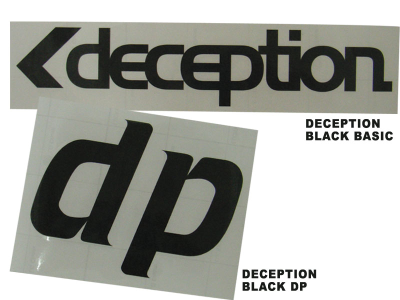 DECEPTION ステッカー [dp-st-black]