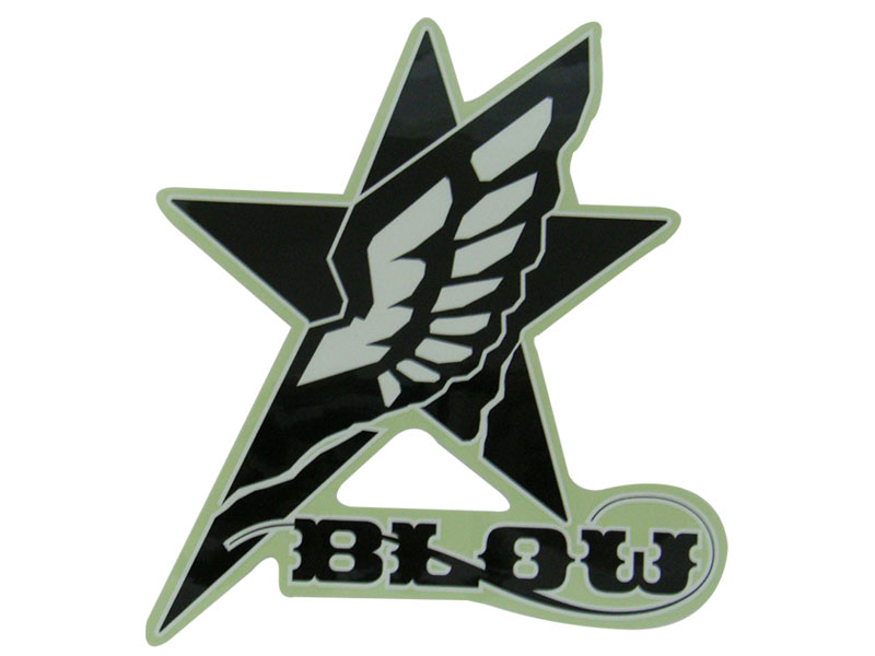 BLOW BIG LOGO STICKER [blow-biglogo-st]